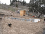 Lap Pool - Panel Layout and foundation